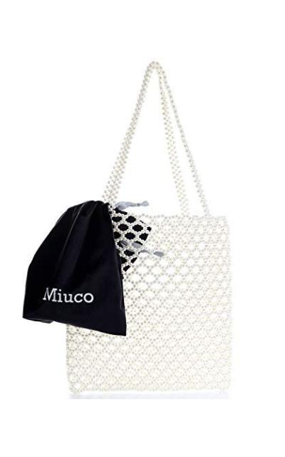 Miuco Pearl Tote Bag