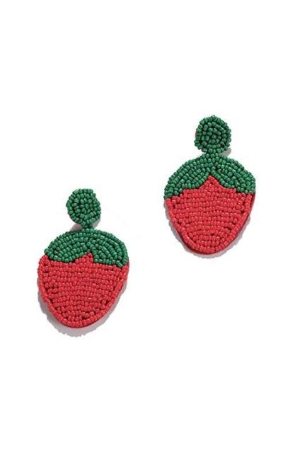 BEST LADY Strawberry Earrings