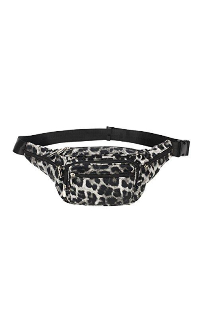 Hearty Trendy Leopard Fanny Pack