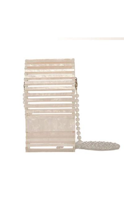 BOKPLD Womens Acrylic Crossbody Bags/Clutch/Handbag