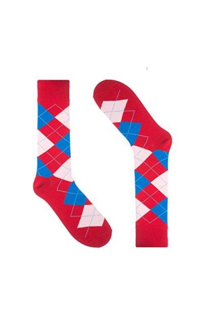 Ivory + Mason Argyle Socks