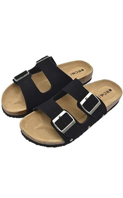 Flat Slide Sandals