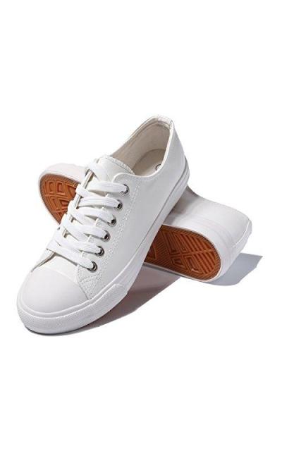 AOMAIS Vegan Leather Sneakers