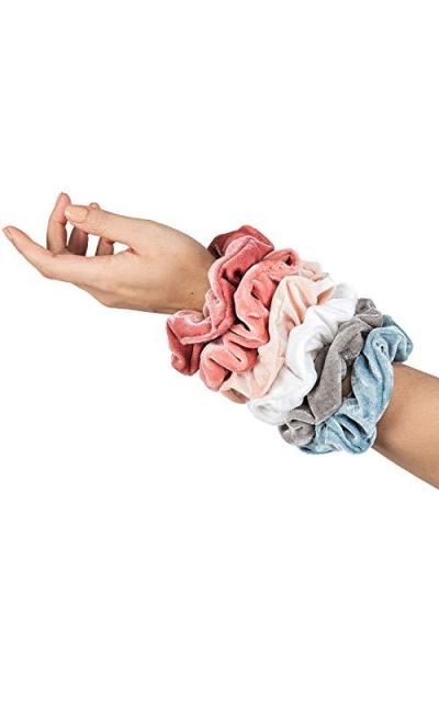 HARLOW Designer Velvet Scrunchies