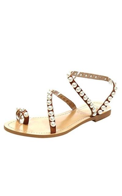Jamron Pearls Sandals