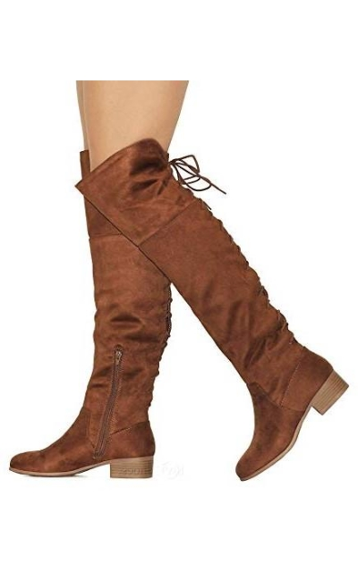 MVE Shoes Over The Knee Boots