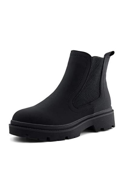 JJABASIC Lycra Chelsea Boots