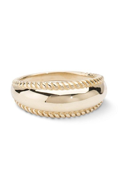 Carolyn Pollack Brass Rope Edge Band Ring