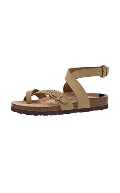 CUSHIONAIRE , Lara Footbed Sandals