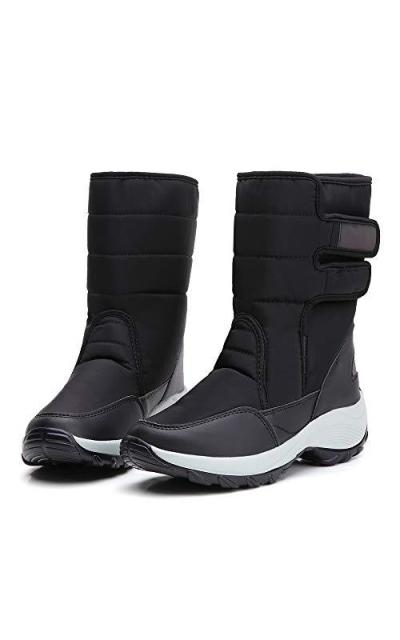 TSIODFO Platform Snow Boots