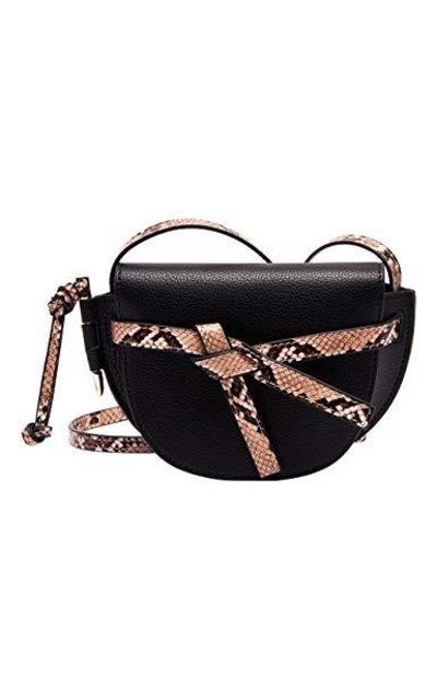 LA FESTIN Saddle Crossbody Bag
