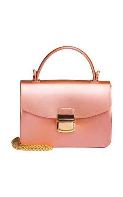 Small Top Handle Jelly Handbags