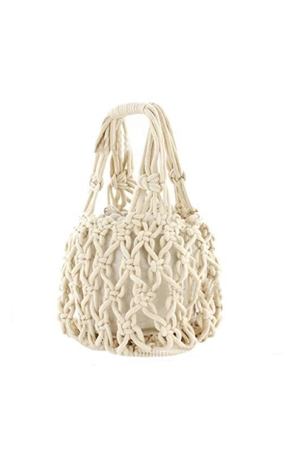 New Straw Bag Cotton Thread Woven Bag