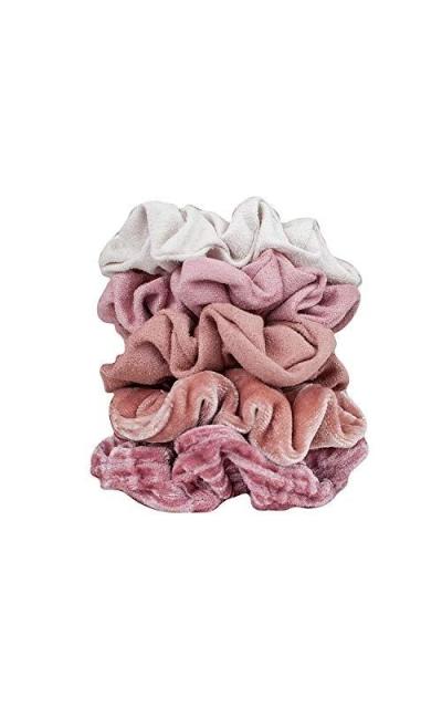 Kitsch Velvet Scrunchies 5 Pack