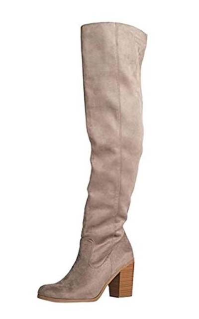 Avalon Over The Knee High Heel Boot