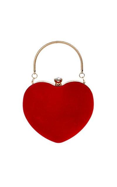 LABANCA Heart Shape Clutch