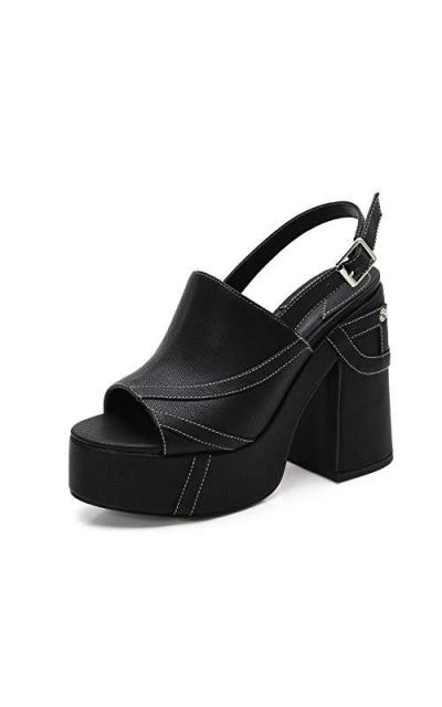 MACKIN J 618-2 Platform Chunky Heel Sandals