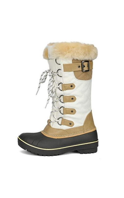 DREAM PAIRS DP Warm Faux Fur Lined Boots