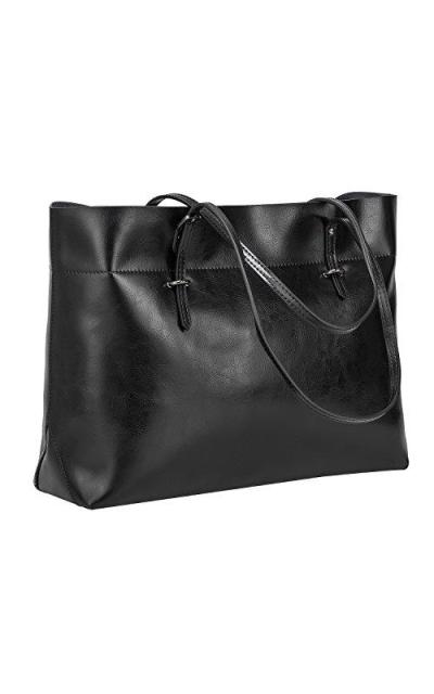 S-ZONE Genuine Leather Tote