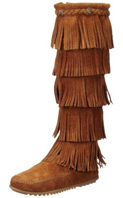 Minnetonka Layer Fringe Boot