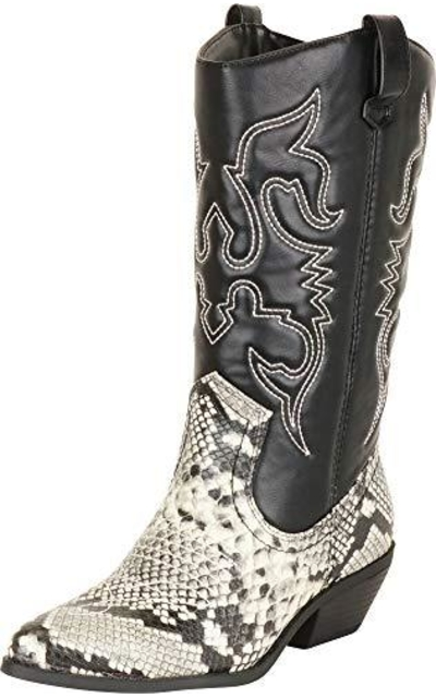Cambridge Select Western Pointed Toe Cowboy Boots