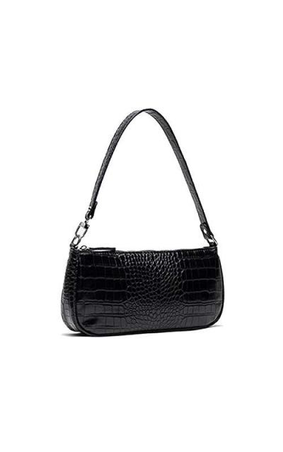 Barabum Retro Classic Crocodile Clutch Shoulder Bag