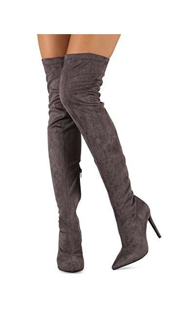 Liliana DB54 Thigh High Boot