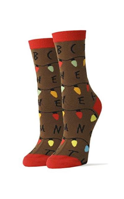 Oooh Yeah Stranger Things Crew Socks