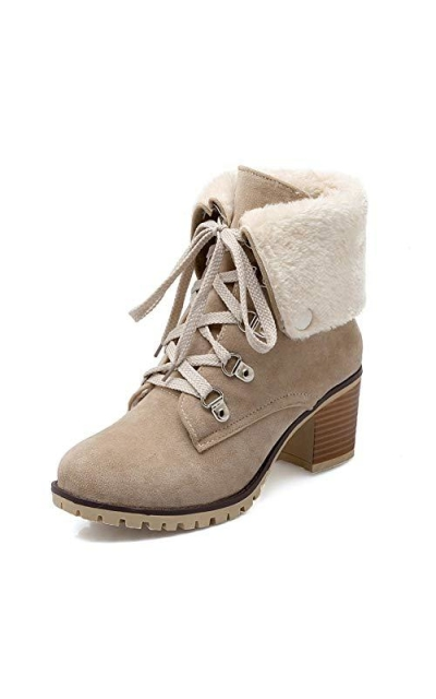 SaraIris Winter Ankle Booties