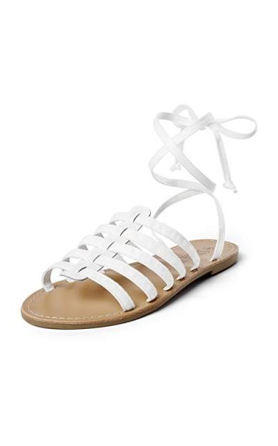 SANDALUP Gladiator Sandal Lace up Sandals