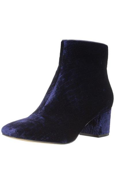 The Fix Daniella Block-Heel Ankle Bootie
