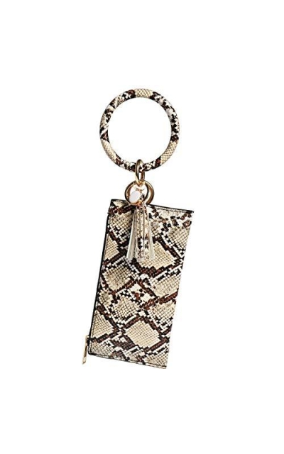 Clutch Wallet with Bangle Keychain
