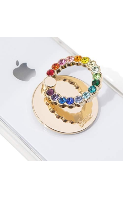 Sonix Embellished Crystal Rhinestone Phone Ring