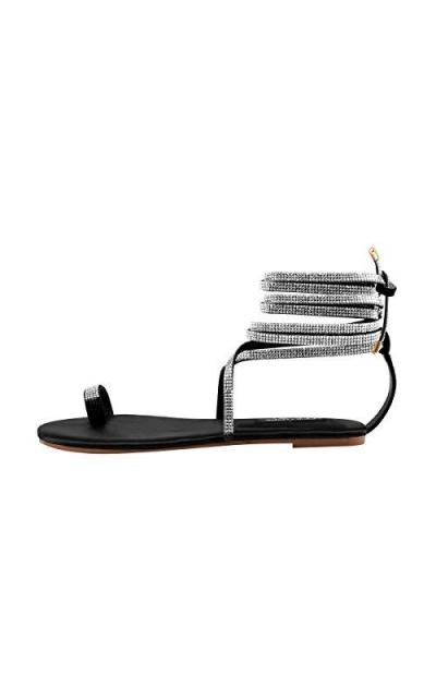 Onlymaker Strappy Flat Sandals