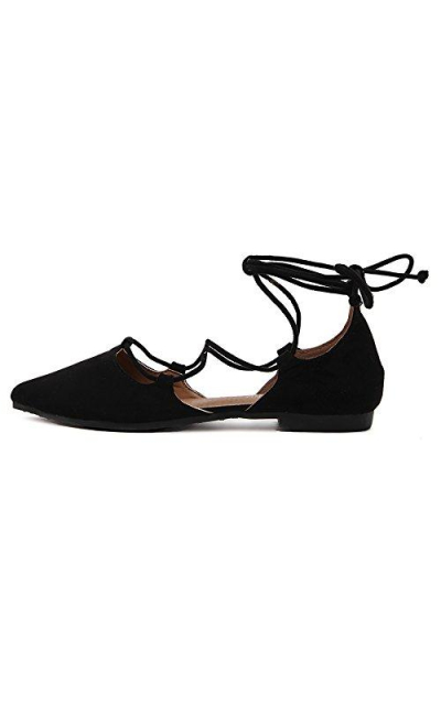 Meeshine D'Orsay Pointy Flats