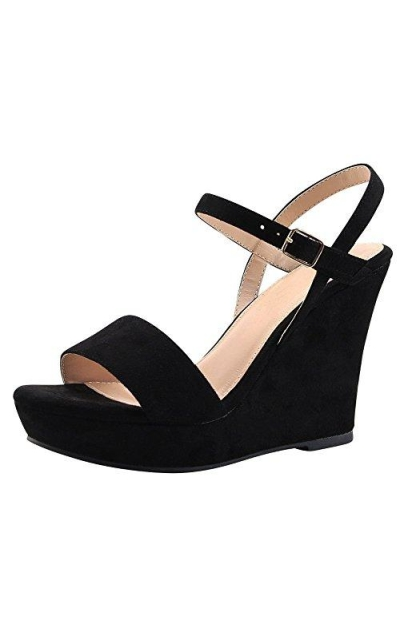 Cambridge Select Strappy Wedge Sandal