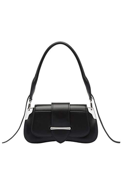 Olyphy Women Designer leather Saddle Shoulder Bag