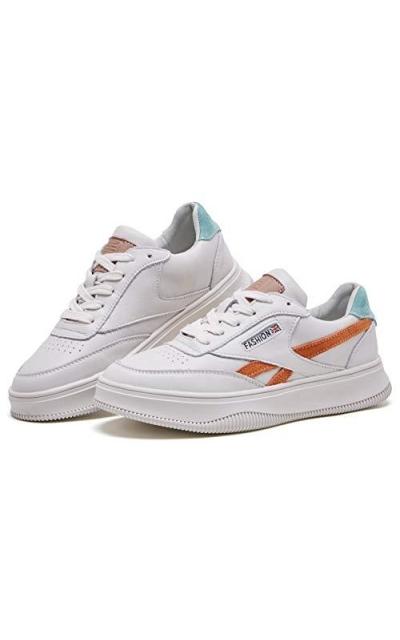 BOYATU Leather Flat Sneakers