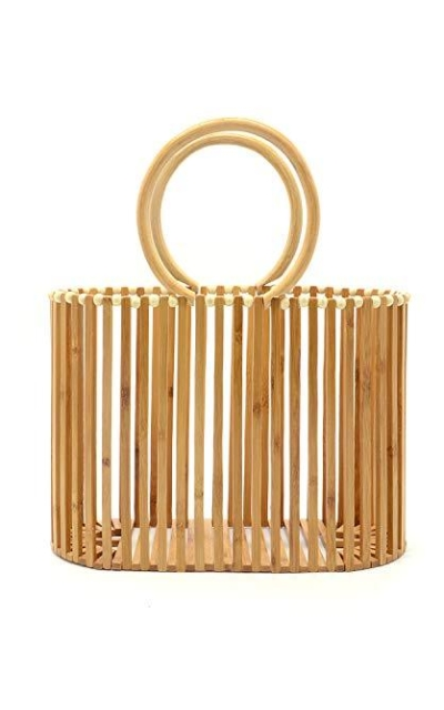 Miuco Top Handle Bamboo Tote