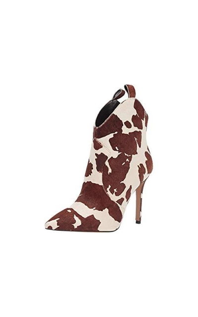 Jessica Simpson Pixille  Cow Print Haircalf  Booties