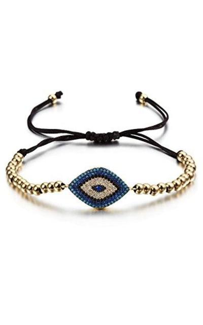 CIUNOFOR Evil Eye Charm Bracelet