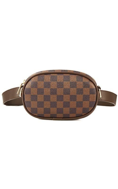 Miracle Premium Checkered Waist Belt Bag