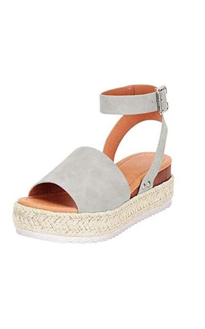 Espadrilles Flatform Sandals