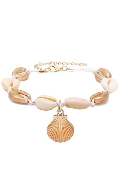 Beach Shell Anklet