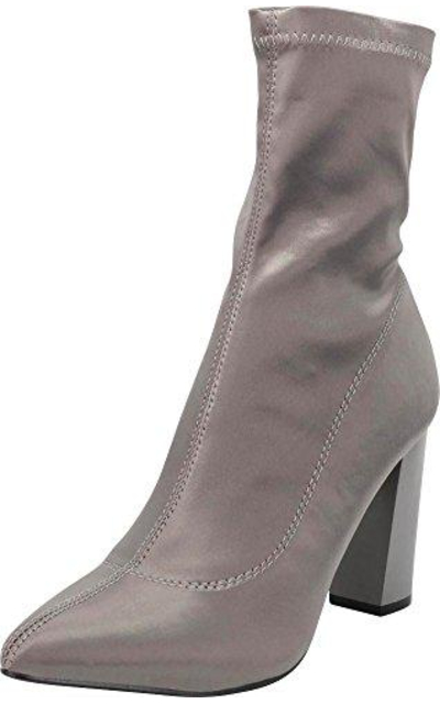 Cambridge Select Pointed Toe Sock Ankle Bootie
