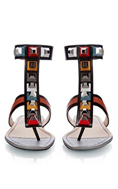 Nine Seven T-Strap Flat Sandals