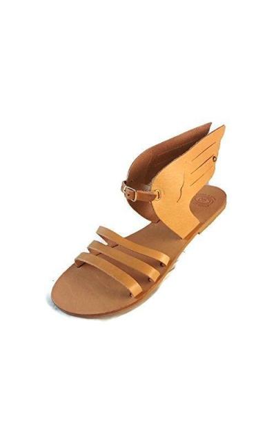 "Ancient Greek Sandals ""Hermes Winged"" Sandals"