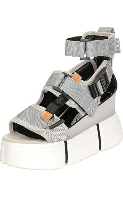 Cambridge Select 90s Ugly Sporty Platform Sandal