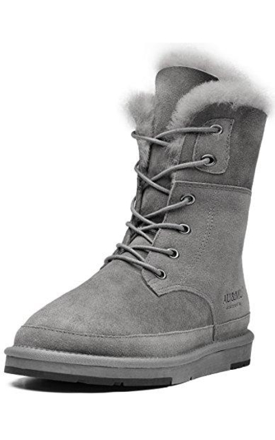 Aumu Fur Snow Boot Winter Boot