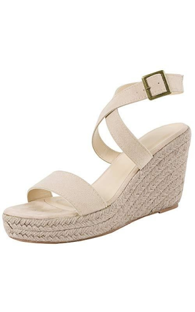 Wedge Platform Espadrille Sandals